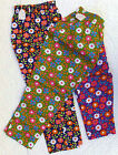 Vintage girls clothes Age 10 years UNUSED flower power hippie trousers 1960s