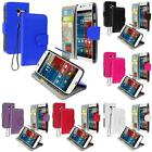 Color Wallet Pouch Case Cover Lanyard ID Card Holder for Motorola Moto X