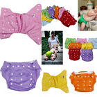 Pick 7 Colors Infant Baby Adjustable Reusable Washable Diaper Nappy Waterproof