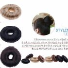 6 Colors Girl Korean Style Donut Hairpiece Hair Band Updo Rope Coil Ring Stretch