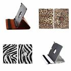For Apple iPad Air 5 Cover Animal Rotating Flip Leather 2 Way Stand Case