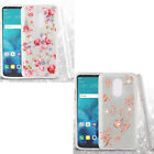 For T-Mobile Samsung Galaxy Exhibit T599 HYBRID IMPACT KICK STAND Diamond Cover