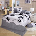 Mickey Mouse Quilt/Duvet/Doona Cover Set New Cotton Double/Queen/King Bed Linen