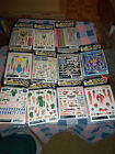 "NIP Pinecar Dry Transfer Decals Sheet 5 x 4""  Pinewood Derby Scrapbooking Drop B"