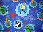 *Choose design* Transformer & Disney Robots Powered cotton quilting fabric