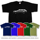 80s BMW 3 SERIES E30 TOURING T-SHIRT - CHOOSE FROM 6 COLOURS (S-XXXL)