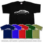 80s CLASSIC SAAB 900 TURBO INSPIRED CAR T-SHIRT - CHOOSE FROM 6 COLOURS (S-XXXL)