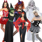 Adult Ladies Costume Tutu Wig Tights Halloween Fancy Dress Outfit New Womens
