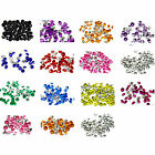 2000 Crystal Diamond Tip Acrylic Confetti Wedding Table Decorations Celebrations
