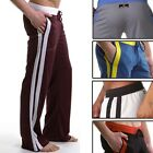 New US STOCK Men Comfortable YOGA Pants Gym Athletic Loose Fit Lounge Trousers
