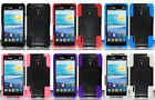 LG Optimus F7 AS780 Faceplate Phone Cover Case TSTAND and Screen Protector