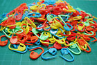 Lots Colorful Knitting Crochet Locking Stitch Marker Needle Clip Markers Holder