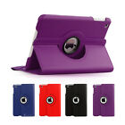 Premium 360 Rotating Smart Leather Cover Case For Apple iPad Mini 3 2 1