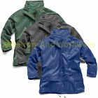 LIGHTWEIGHT WATERPROOF RAIN JACKET WORK COAT NYLON KAGOUL HOODED MENS LADIES