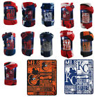"Brand New MLB Teams New Designs Large Soft Fleece Throw Blanket 50"" X 60"" on Ebay"