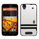 For Boost Mobile ZTE Boost Max TPU STRIPES CANDY  Gel Flexi Skin Case Cover