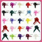 Large 50mm Pull Bows Weddings Partys Floristry Wrap Ribbon  Many Colours ML