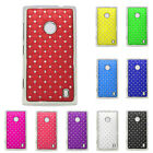 New Crystal Diamond Bling Skins Hard Back Case Cover For Nokia Lumia 520 N520