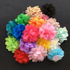 "LOW Price Mini 2"" DIY baby Chiffon flowers Head Flower Corsage Hair Accessory"