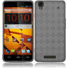 Boost Mobile ZTE Boost Max TPU CANDY Plaid Gel Flexi Skin Case Cover Accessory