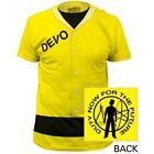 New Devo Duty Now For The Future Yellow Jumpsuit Jacket Costume Mens T-Shirt Top