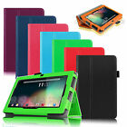 "Folio PU Leather Case Cover for Chromo Inc.® 7"" Tab Chromo 7 Android Tablet"