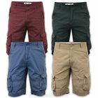 Mens Shorts Tokyo Laundry Cargo Combat Knee Length Cotton Military Casual Summer
