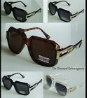 Clear or Black or Brown Frame Big Body Style Cazal Design Tinted Lens Sunglasses