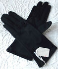 Vintage nylon gloves UNUSED Ladies Size 7 1970s Black