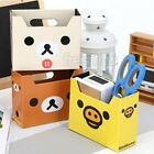 New DIY Paper Board Clean Up Desk Desktop Decor Organizer Stationery Storage Box