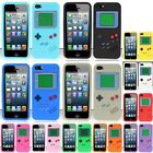 For iPhone SE 5S 5 Gameboy Silicone Case Cover