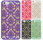 For Apple iPhone 5 5S SE TPU LACE GUMMY Hard Skin Case Phone Cover Accessory