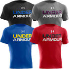 Under Armour 2014 Mens UA HeatGear Intl Wordmark T-Shirt Training Gym Top