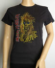 IRON MAIDEN - Debut Album Women's Vintage T-Shirt  UK Size 6 & 8