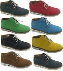 Mens Low Top Ankle Boots Dress Up or Casual Shoes Fancy Striped Lining Polar Fox
