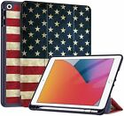 Folio Case Slim Shell Cover Stand for Apple iPad 8th 2020/ 7th 2019 Wake/Sleep