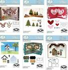 ELIZABETH CRAFT DESIGNS DIES / KAREN BURNISTON POP IT UPS / PIVOT CARDS