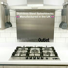 Kitchen Splashback Brushed Stainless Ste...