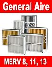 2 GENERAL AIRE MEDIA REPLACEMENT AIR FILTERS - 16x25x3 / 16x25x5 / 20x25x5 +MORE
