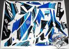 EVX Fairing Graphic Wrap Kit Complete Yamaha EV-X Full Decals Set Body Vinyl FX
