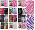 LG Optimus L70 Crystal Diamond BLING Hard Protector Case Snap Phone Cover