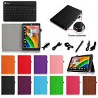 Folio Slim Fit Case Stand Cover Bluetooth Keyboard for Acer Iconia A1-830 7.9""