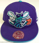 NBA Charlotte Hornets Mitchell and Ness Structured Fit M&N XL Logo Cap Hat NEW on eBay