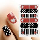BMC 12pc Nail Polish Art Adhesive Decorative Strips - 49 Different Design Sets