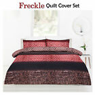 Freckle Brown Safari African-Themed Quilt Cover Set - SINGLE DOUBLE QUEEN KING