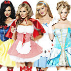 Sexy Fairytale Ladies Fancy Dress Womens Story Book Character Adults Costume New