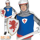 Medieval Knight Boys Dress Up Fancy Dress Book Week Kids Childs Costume Outfit