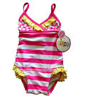 *CIRCO Baby Girl PINK STRIPES+YELLOW UV Protection UPF 50+ Swimsuit *YOU CHOOSE*
