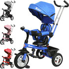 Kiddo Smart Design 4-in-1 Childrens Tricycle Kids Trike 3 Wheel Bike Parent New
