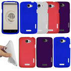 For HTC One X S720e Endeavor Supreme Color SILICONE Soft Skin Rubber Case Cover
